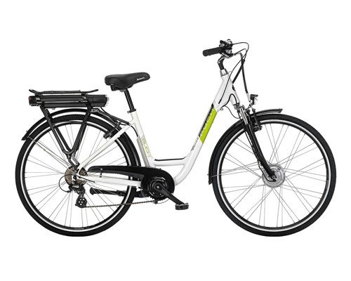 Bicicletta elettrica unisex bianchi puch going